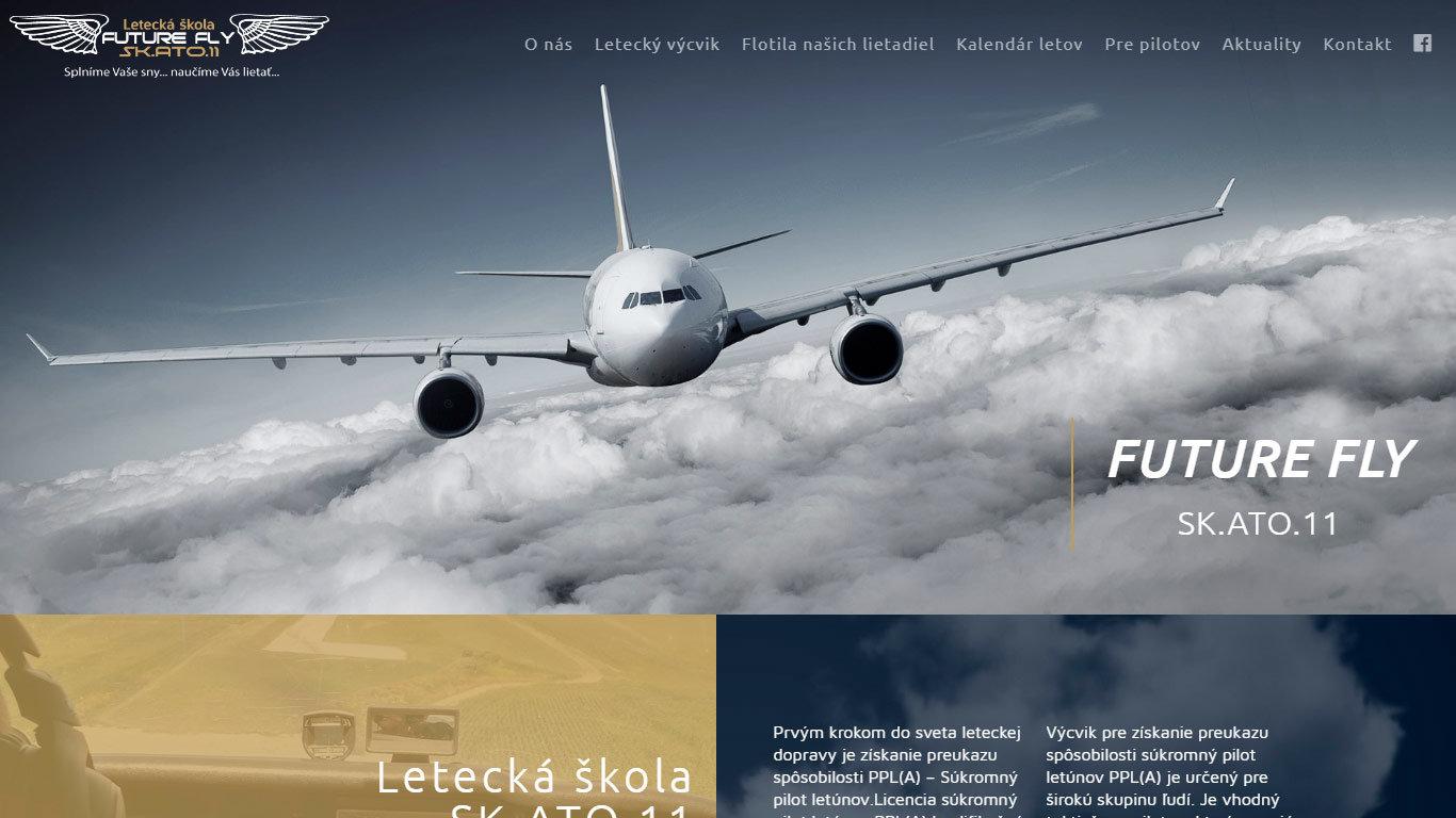Letecká škola web